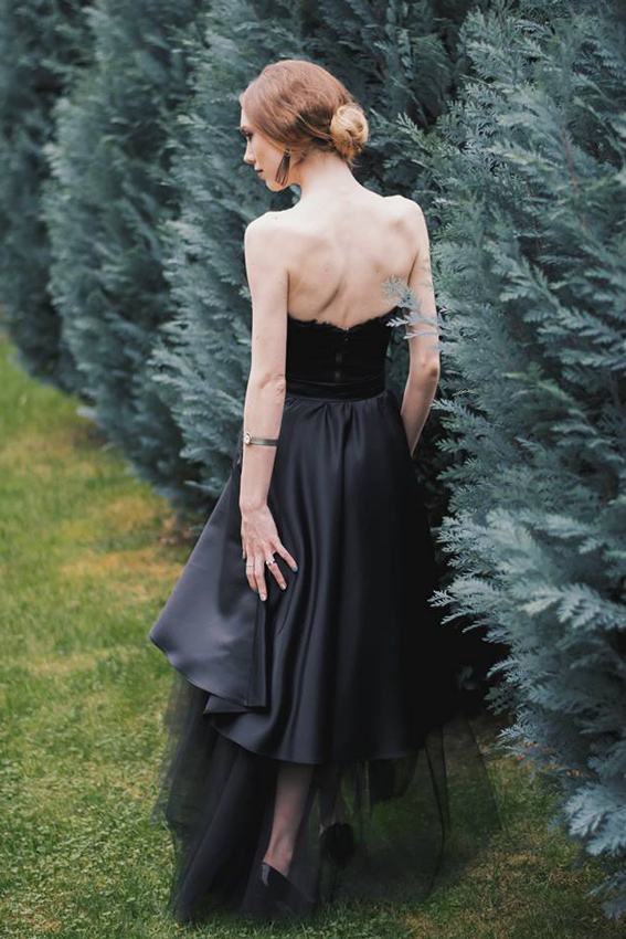 Rochie de seară neagră - #SinestezicQueens - Sinestezic