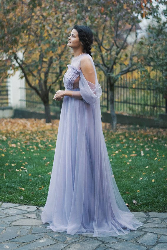 Rochie de seara lila - #SinestezicQueens - Sinestezic