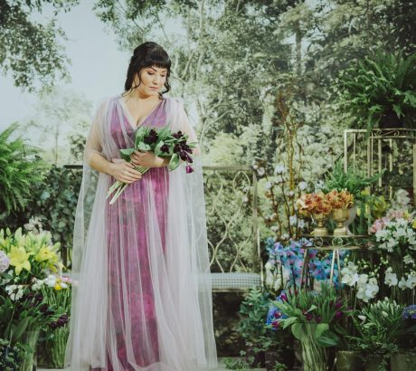 Sinestezic | Colecția Garden of Dreams | Designer vestimentar roman | Rochii de seara cu imprimeu floral | Rochii de seara personalizate | Rochii de seara unicat | Rochii de seara lungi